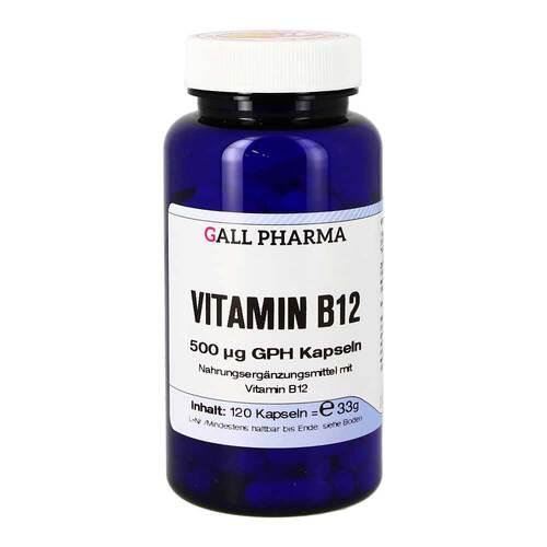 Vitamin B12 500 µg GPH Kapseln - 1