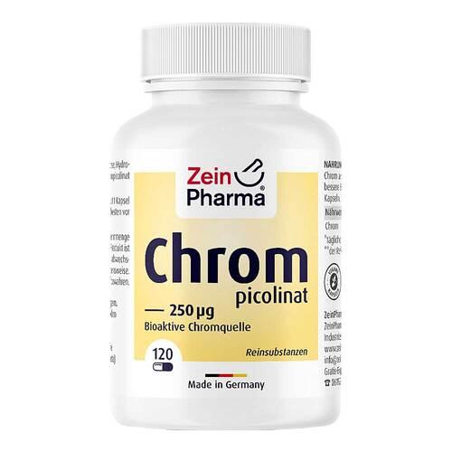 Chrompicolinat 250 µg in vegetarischen Kapseln - 1
