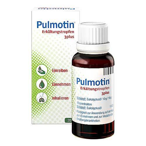 Pulmotin Erkältungstropfen 3plus - 1