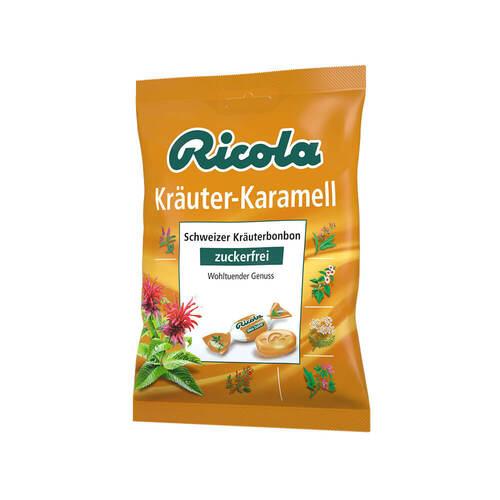 Ricola ohne Zucker Beutel Kräuter-Karamell Bonbons - 1