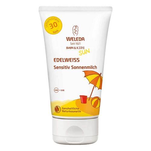 Weleda Edelweiss Sensitiv Sonnenmilch LSF 30 Baby & Kids - 1