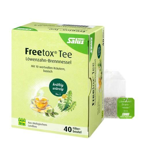 Freetox Tee Löwenzahn-Brennnessel Bio Salus Fbeutel  - 1
