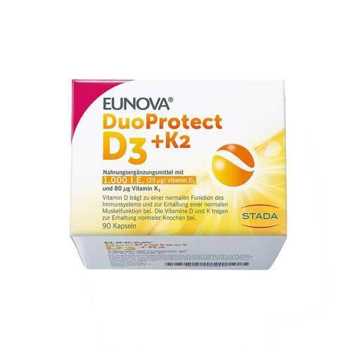 Eunova Duoprotect D3 + K2 1000 I.E. / 80 µg Kapseln - 1