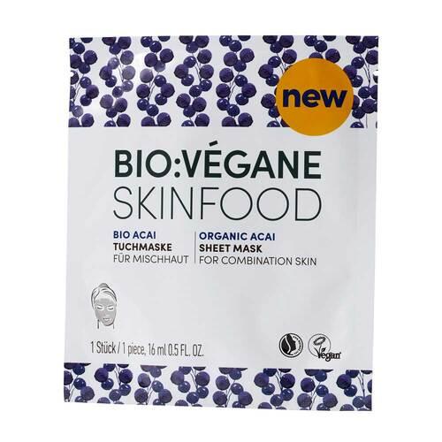 Bio Vegane Oily Acai Vliesmaske - 1