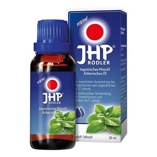 JHP Rödler Japanisches Minzöl ätherisches Öl - 1