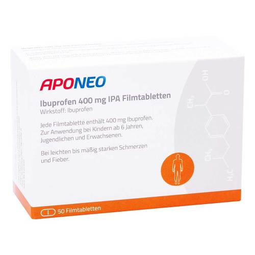 Ibuprofen 400 mg Ipa / APONEO Filmtabletten - 1