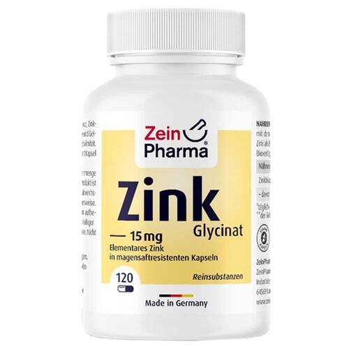 Zink Chelat 15 mg in magensaftresistent veg.Kapseln  - 1