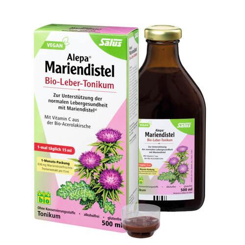 Alepa Mariendistel Bio-Leber-Tonikum Salus - 1