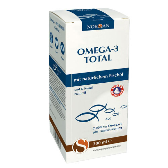 Norsan Omega-3 Total Naturell flüssig - 2