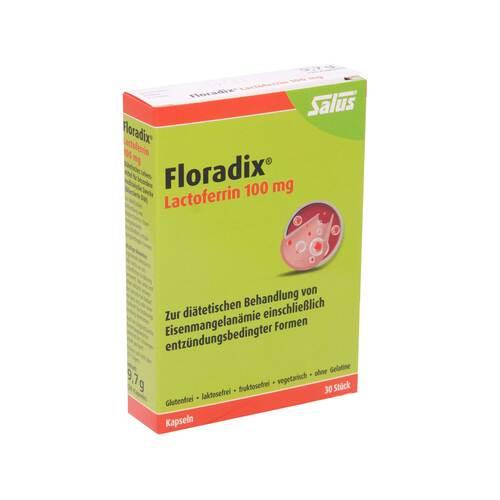Floradix Lactoferrin 100 mg Kapseln - 1