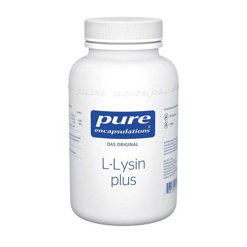 Pure Encapsulations L-Lysin plus Kapseln - 1