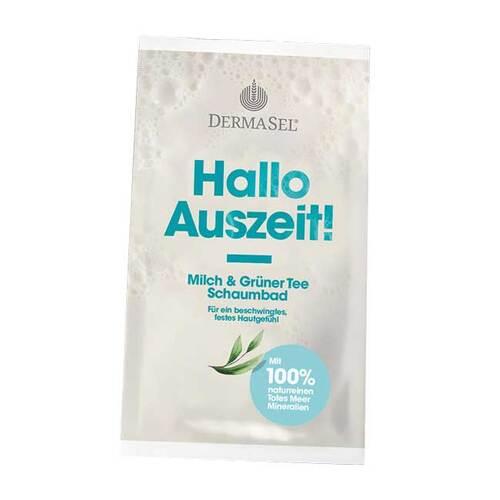 Dermasel Hallo Auszeit Schaumbad Milch & grüner Tee - 1