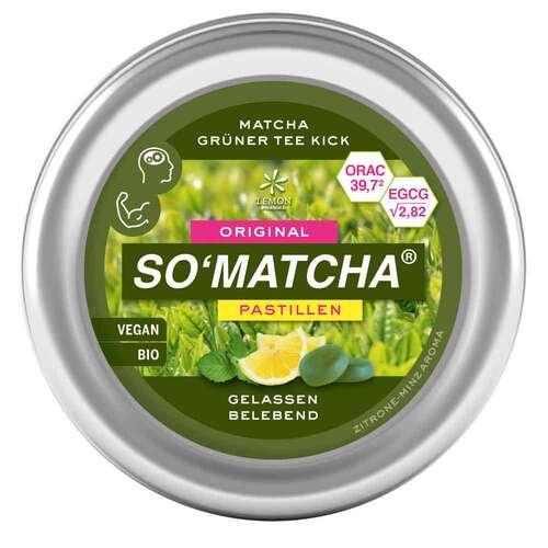 Matcha So`matcha Pastillen Grüntee Minze - 1