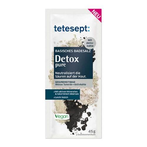 Tetesept basisches Badesalz Detox pure - 1