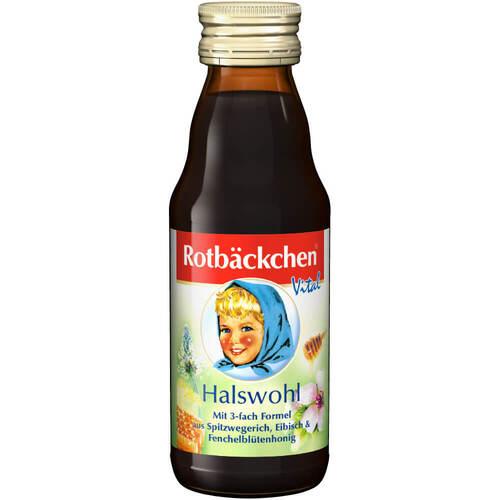 Rabenhorst Rotbäckchen Vital Halswohl Saft - 1