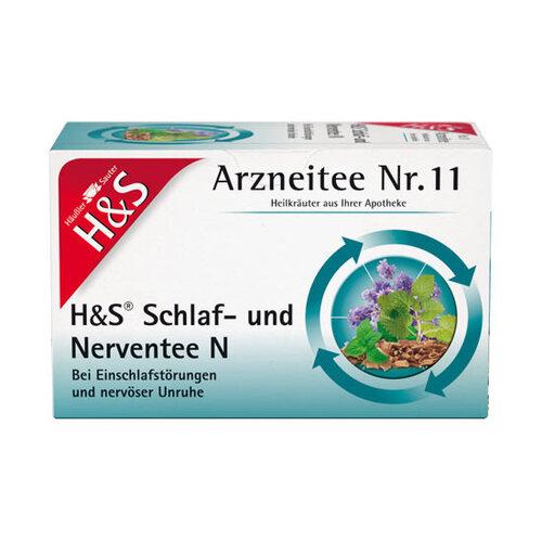 H&S Schlaf- und Nerventee N Filterbeutel - 1