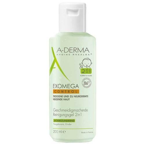 A-Derma Exomega Control Reinigungsgel 2in1 - 1