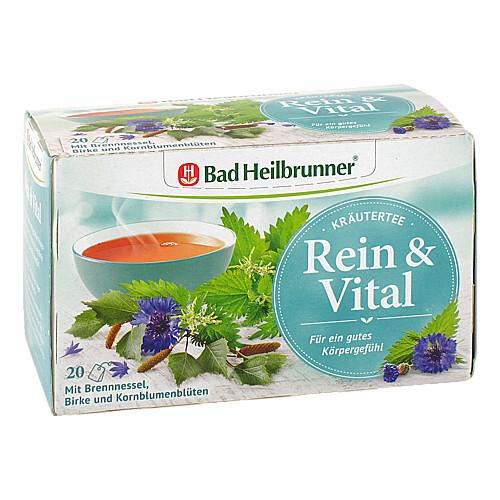 Bad Heilbrunner Wohlfühltee Rein & Vital Fbeutel  - 1