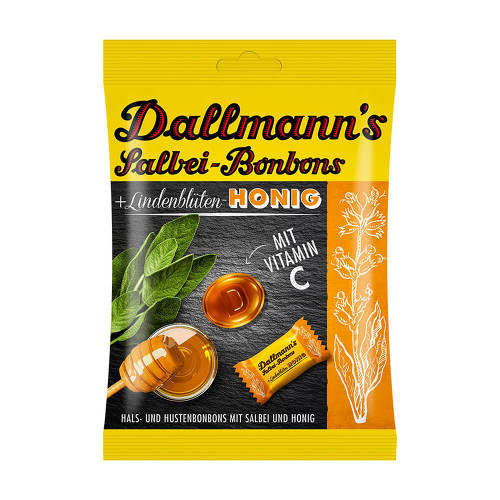 Dallmann`s Salbei Honig Bonbons - 1