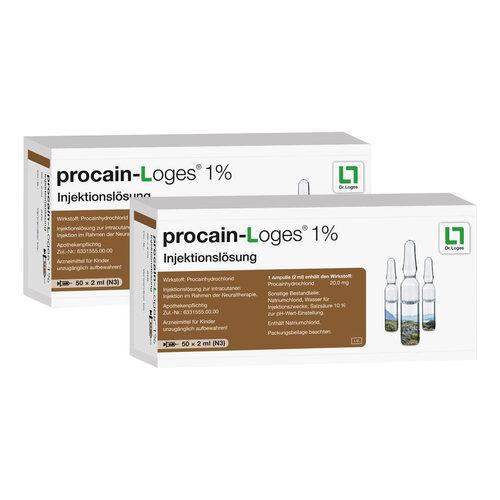 Procain-Loges 1% Injektionslösung Ampullen - 1