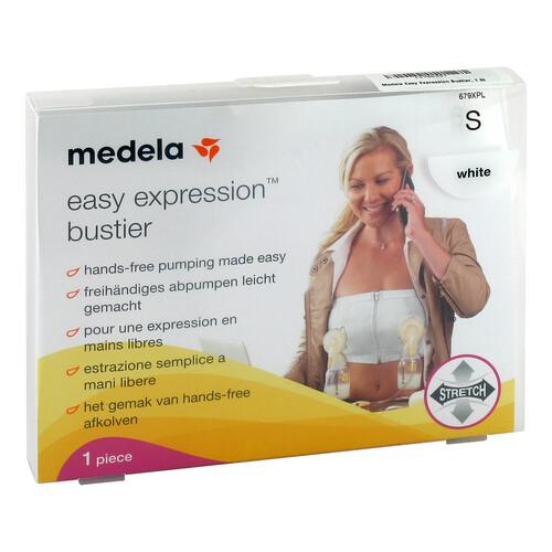 Medela Easy Expression Bustier Größe S weiß - 1