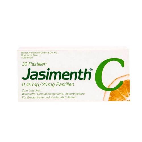 Jasimenth C Lutschpastillen - 1