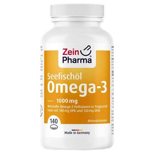 Omega-3 1000 mg Seefischöl Softgelkapseln hochdo. - 1