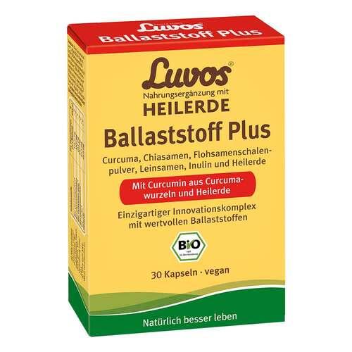 Luvos Heilerde Bio Ballaststoff Plus Kapseln - 1