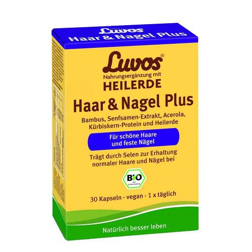 Luvos Heilerde Bio Haar & Nagel Plus Kapseln - 1