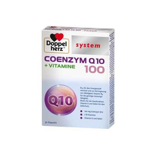 Doppelherz system Coenzym Q10 100 + Vitamine Kapseln - 1