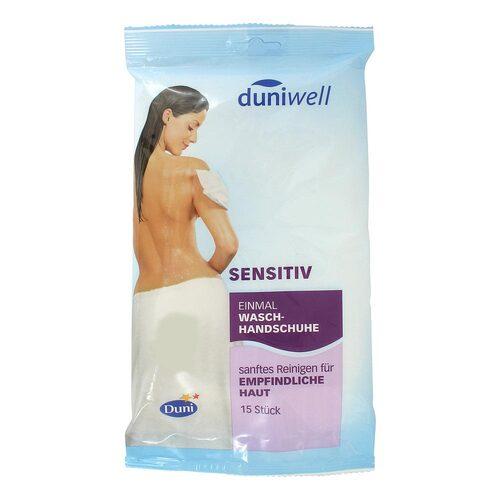 Duniwell Einmal Waschhandschuhe sensitiv - 1