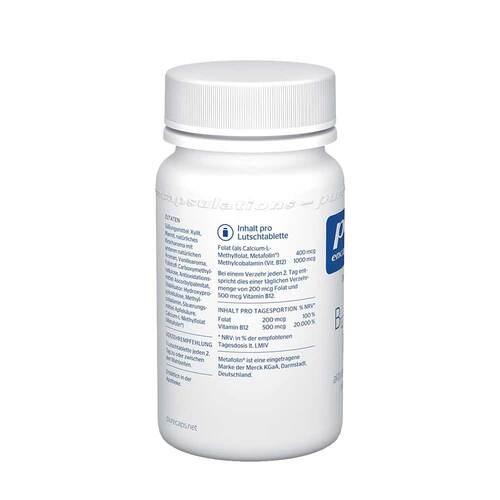 Pure Encapsulations B12 Folate melt Lutschtabletten  - 4