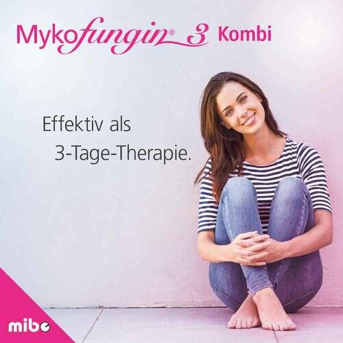 Mykofungin 3 Kombi 200 mg Vaginaltabletten + 10 mg / g Creme - 2