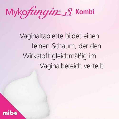 Mykofungin 3 Kombi 200 mg Vaginaltabletten + 10 mg / g Creme - 4
