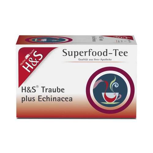 H&S Traube plus Echinacea Filterbeutel - 1