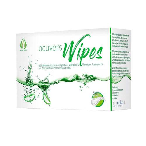 Ocuvers wipes - 1