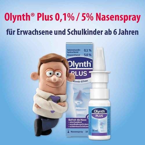 Olynth Plus 0,1% / 5% für Erwachsene Nasenspray ohne K. - 2
