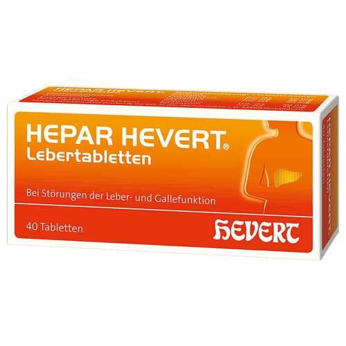 Hepar Hevert Lebertabletten - 1