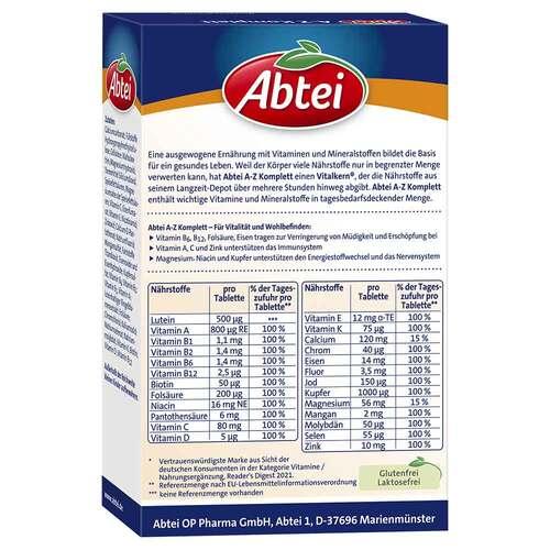 Abtei A-Z Komplett Tabletten - 2