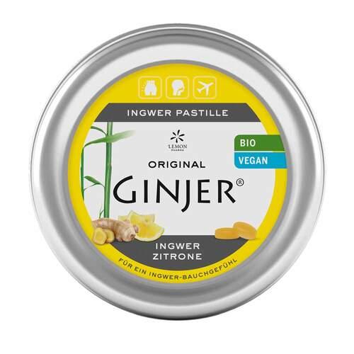 Ingwer Ginjer Zitrone Pastillen - 1