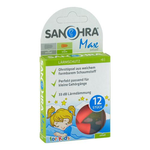 Sanohra max Gehörschutzstöpsel für Kinder - 1