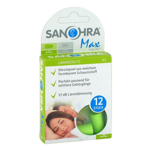 Sanohra max Gehörschutzstöpsel für Erwachsene - 1