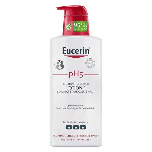 Eucerin pH5 Lotion F mit Pumpe empfindliche Haut - 1