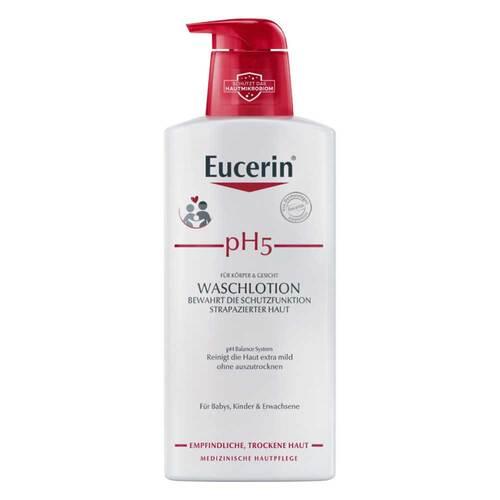 Eucerin pH5 Waschlotion mit Pumpe empfindliche Haut - 1
