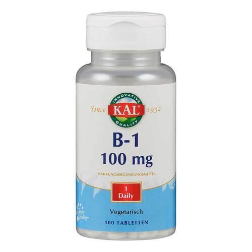 Vitamin B1 Thiamin 100 mg Tabletten - 1