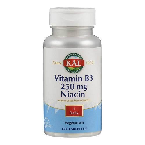 Vitamin B3 Niacin 250 mg Tabletten - 1