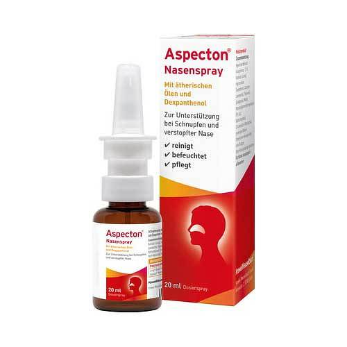 Aspecton Nasenspray entspricht 1,5% Kochsalz-Lösung  - 1
