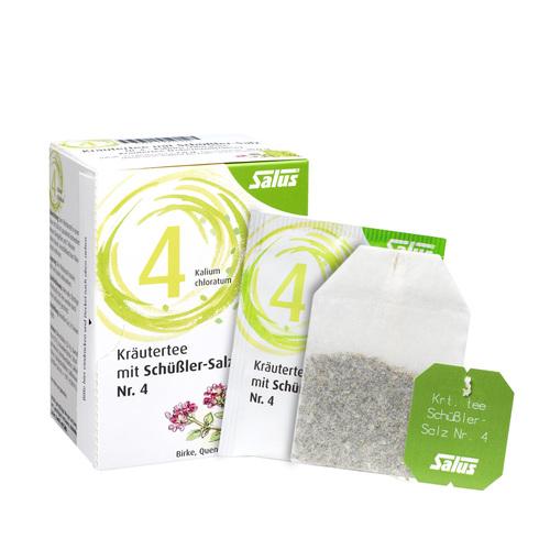 Kräutertee mit Schüssler-Salz Nr.4 Salus Fbeutel  - 1