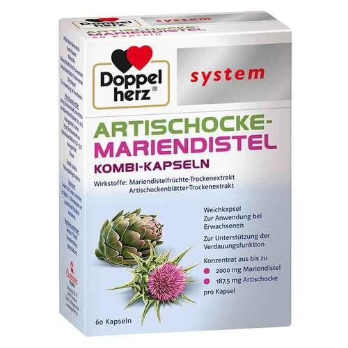 Doppelherz Artischocke-Mariendistel system Weichk. - 1