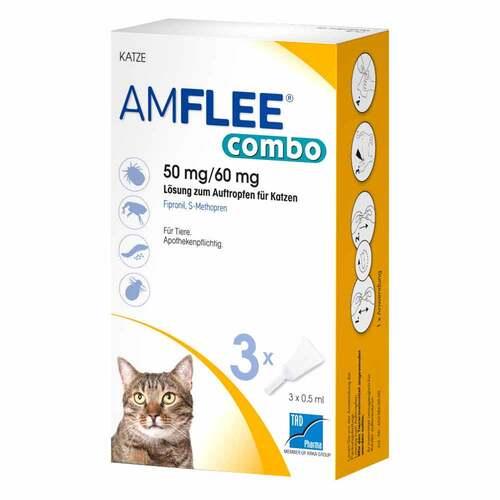 Amflee combo 50 / 60mg Lösung z.Auftropfen für Katzen - 1